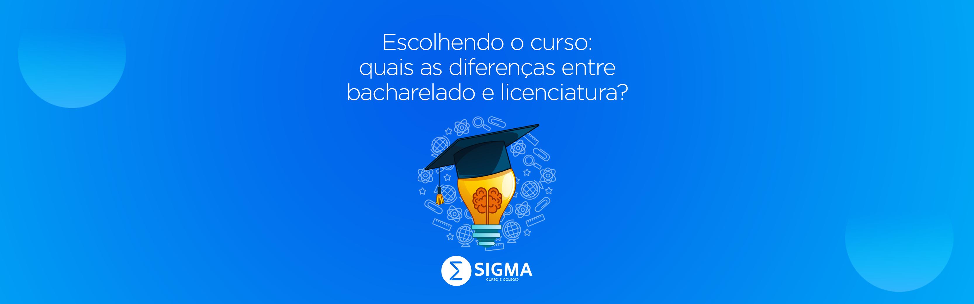 Escolhendo o curso: qual a diferença entre bacharelado e licenciatura?